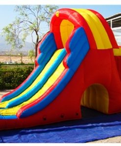 CASTILLO HINCHABLE DIVERPLANET SLIDE MEGA DOBLE 4-1