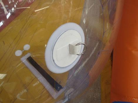 bola de agua transparente. sujeción waster ball, 2 foto