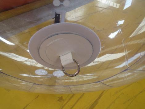bola de agua transparente. 4 foto