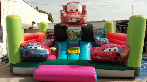 castillo hinchable cars