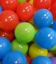bolas para jugar en el hinchable