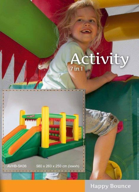 Portada de hinchable Activity
