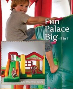 Portada hinchable Fun Palace Big. 9en1