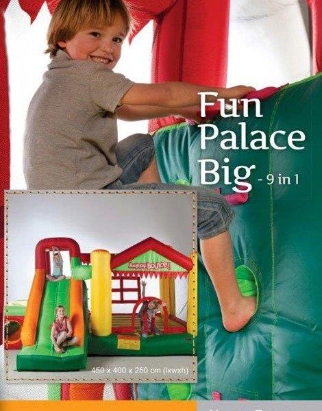 Portada hinchable Fun Palace Big. 9en1
