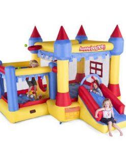 hinchable New Castle con niños