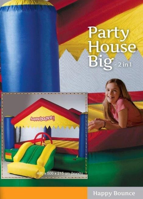 Portada de hinchable Party