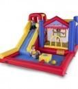 hinchable Water Slide con niños