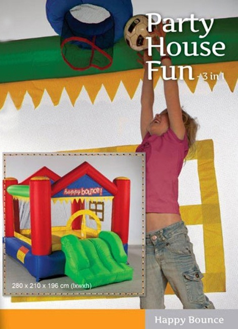 Portada de Mini Hinchable Party House Fun
