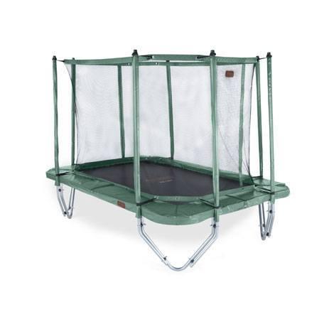 red de seguridad cama elástica proline 23 verde