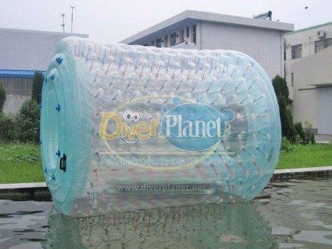 bola acuática roller tube diver planet